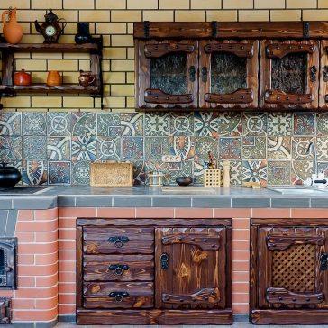 Кухня под старину #75