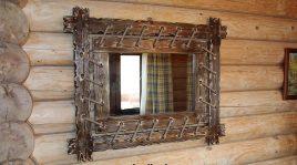 Зеркало под старину №7