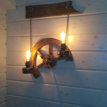 Светильник под старину №35